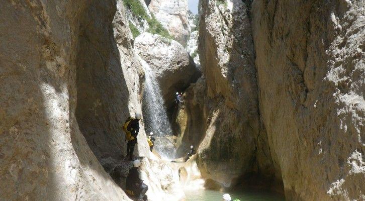 Barranco de Gorgas Negras N4