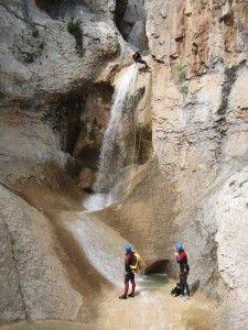 3ª cascada de Peña Guara