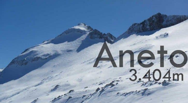 Ascensión al Aneto 3.404m