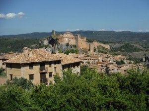 pueblo de Alquezar en Huesca