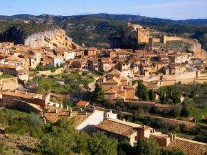 Huesca pueblo de Alquezar