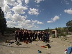 Rumbo Aventura: tus guias de barrancos en Alquezar