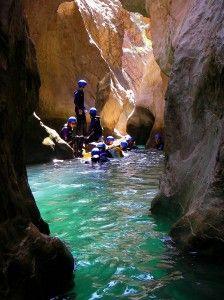 Canyoning en Guara