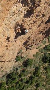 Escalada Mallos de Riglos: Fiesta de los biceps (Huesca)