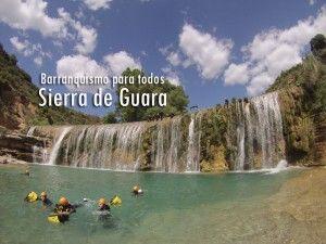 Barranquismo en Guara. Barranco de la Peonera