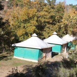 Camping río Vero Guara Alquezar
