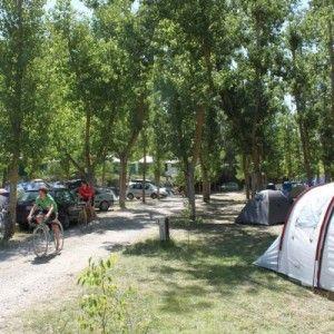 Camping río Vero Guara Huesca