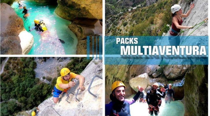 Packs Multi-Aventura en Huesca