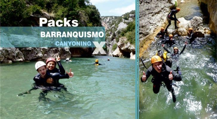 CANYONING GUARA-PACKS