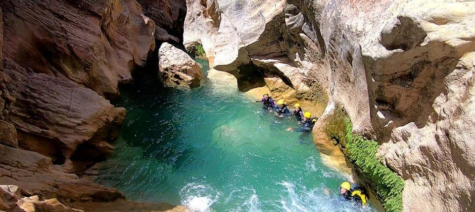 Canyoning Sierra de guara – Alquezar